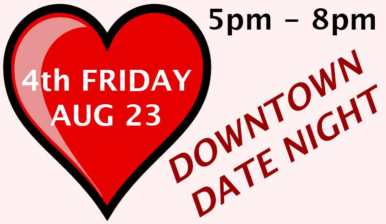 Aug 23 – 4th Friday