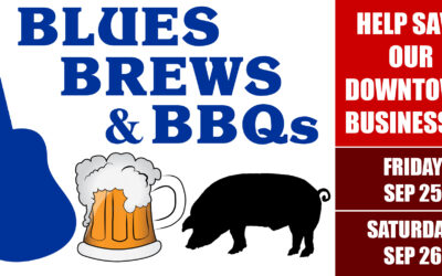 4th Friday in September – Blues, Brews & BBQs