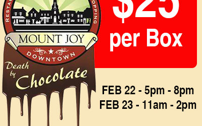 Chocolate Walk – Feb 22 & 23, 2019